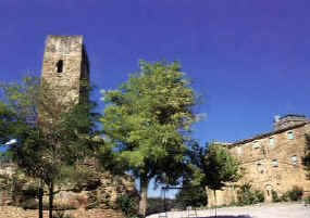 Torre i esglsia d'Ardvol